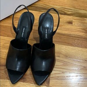 Brand new Nine West Back leather heels
